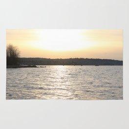 Kits Beach Sunset 2 Rug