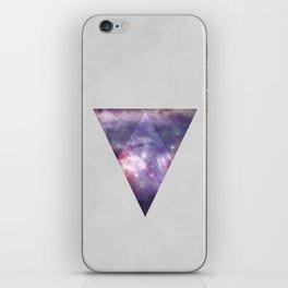 Space Tri iPhone Skin