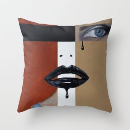Losing Her Religion Throw Pillow