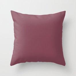 maroon Throw Pillow