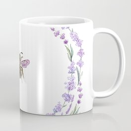 Lavender Bee Coffee Mug