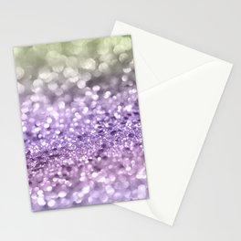 Purple Lavender Glitter #1 #shiny #decor #art #society6 Stationery Cards