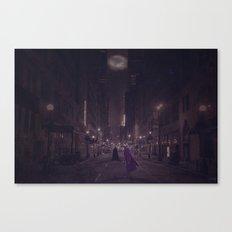 Gotham Nights Canvas Print
