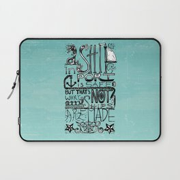 A Ship in Port Laptop Sleeve