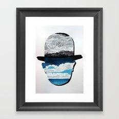 Ceci n'est pas une Magritte Framed Art Print
