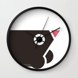 mole mania Wall Clock