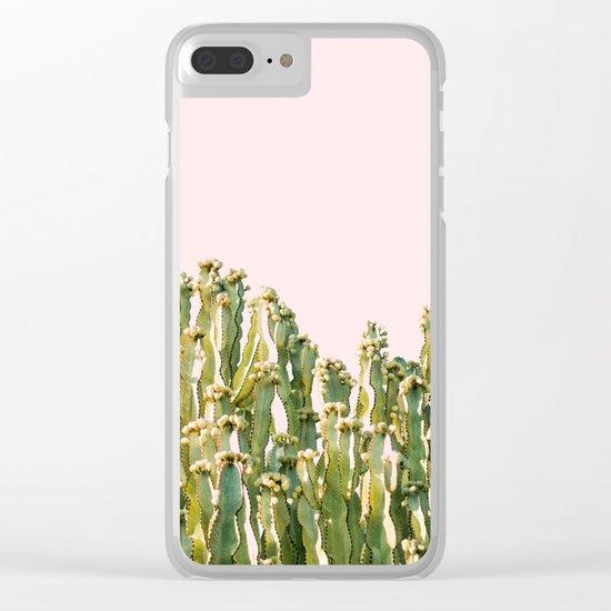 Cactus Blush #society6 #decor #buyart Clear iPhone Case