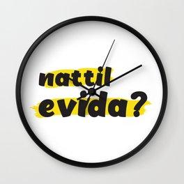 Nattil Evida - നാട്ടിൽ എവിടാ? Wall Clock