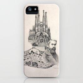 Tribute to Gaudi iPhone Case