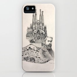 Tribute to Gaudi iPhone Case