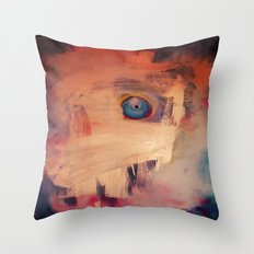 Invisible Fish Throw Pillow