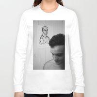 mirror Long Sleeve T-shirts featuring Mirror by Matt Oberski