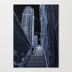 Night Steps Canvas Print