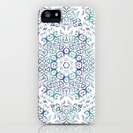 Harmony In Blue iPhone Case