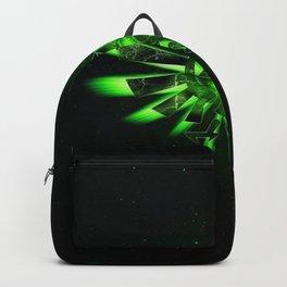 Zelda Triforce Green Space Backpack fa36adaeb0711