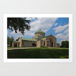 Calvary Cemetery I Art Print