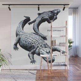 Lazy Gators II Wall Mural
