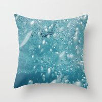 underwater Throw Pillows featuring Underwater by adriaaannn