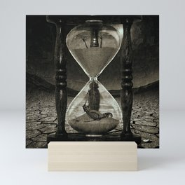 Sands of Time ... Memento Mori - Monochrome Mini Art Print