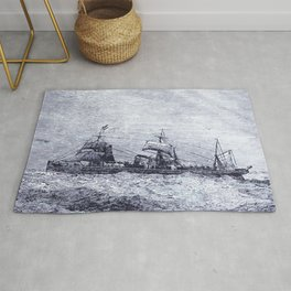 Mastery of Nature by Man Rug