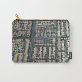 ARCH ABSTRACT 17: Urban sprawl #1, Las Vegas Carry-All Pouch