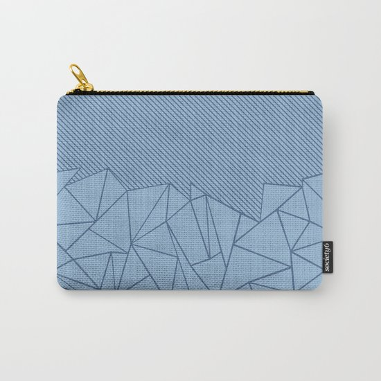 Ab Lines 45 Blues Carry-All Pouch