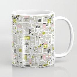 City map Coffee Mug