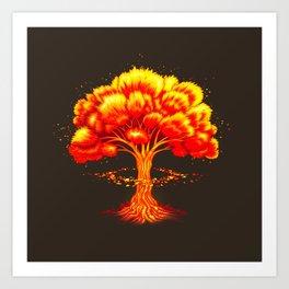 Nuclear Nature Art Print