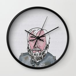 John Baldessari Wall Clock