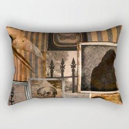Gothic Menagerie Rectangular Pillow