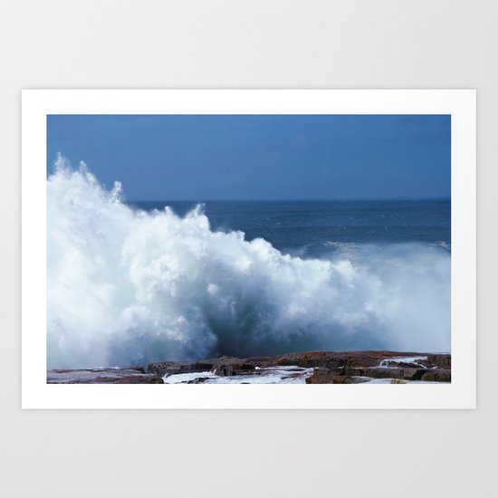 Storm Surge Art Print