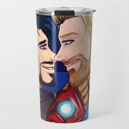 beard boyfriends Travel Mug