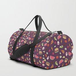 Yummy! (purple) Duffle Bag