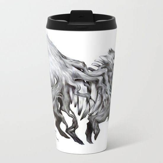 A Forest's Death Metal Travel Mug