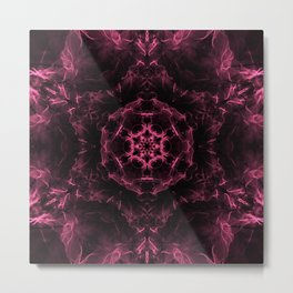 Universe Expansion Mandala Metal Print