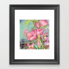 Macro Flower #21 Framed Art Print