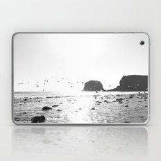 black and white big sur Laptop & iPad Skin