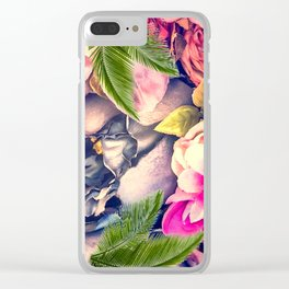 Flower dream Clear iPhone Case