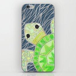 Tortu the Sassy Turtle iPhone Skin