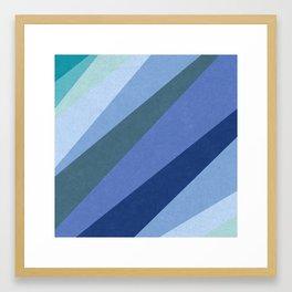 Shades of Sea Framed Art Print
