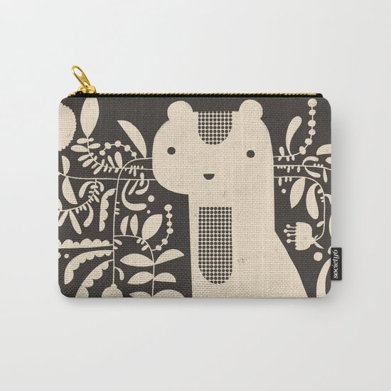FLAMBOYANT WHISKERS Carry-All Pouch