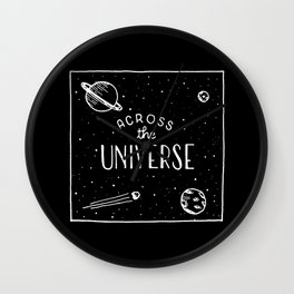 Across the universe #2 Wall Clock