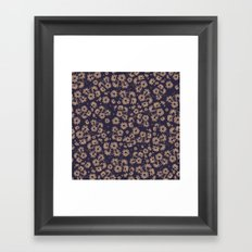 Flowers at Dawn II Framed Art Print