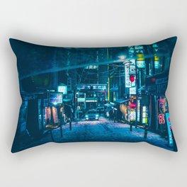 From My Umbrella -Snowy Night- Rectangular Pillow