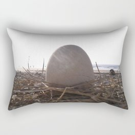 Patience Egg Rectangular Pillow