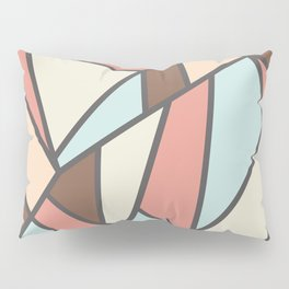 Geometric Colour Pattern V2 Pillow Sham
