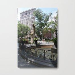 Flatiron From Madison Square Park NYC Metal Print