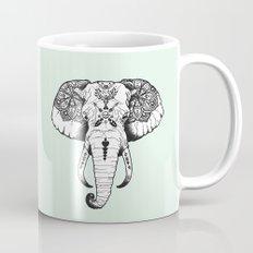 Elephant Tattooed Mug