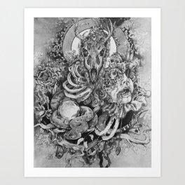 Beauty in the Beast Art Print