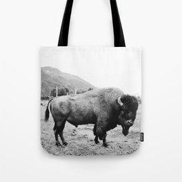 Alaska Bison Tote Bag